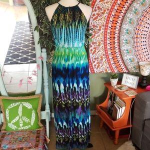 Carole Little Dresses - Carole Little Colorful Maxi Dress Size 6